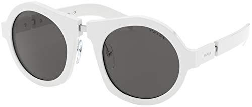 Prada 0PR 10XS Gafas de sol, White, 40 para Mujer