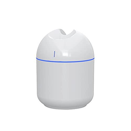 CUIFULI - Umidificatore a nebbia fredda, 300 ml, umidificatore silenzioso, per camera da letto e piccola stanza, spegnimento automatico, porta USB, portatile per bambini e bambini