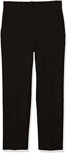 Van Heusen Little Boys' Flex Stretch Flat Front Dress Pants, black, 5