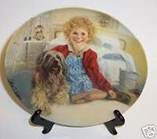 Annie and Sandy (Little Orphan Annie) Collectible Plate
