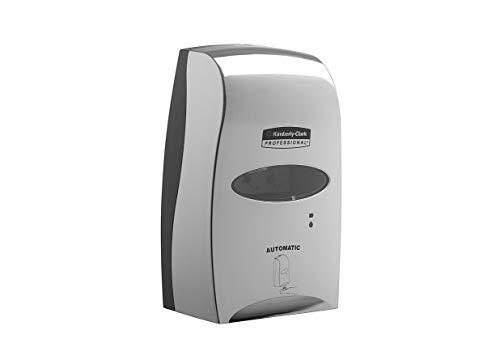 Kimberly-Clark Professional berührungsfreier, automatischer Seifenspender für Handseife, Kompatibel mit 1,2 L Seifenkartuschen (separat erhältlich), Chrom, 11329