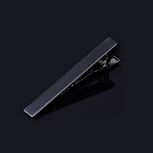 Classic Fashion Simplicity Mens Tie Clip Tie Bar Set Regular Ties Detachable Tie Clip for Men's Luxurious Tuxedo Formal Shirts Wedding Anniversary Official Business Gift with Bagged Z1039