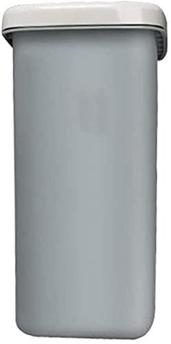 DZCGTP Juego Combinado de Bote de Basura Papelera de Reciclaje de residuos Bote de Basura Rectangular de Resorte con Tapa Oficina en casa Aeropuerto Hotel Escuela Bote de Basura 10L