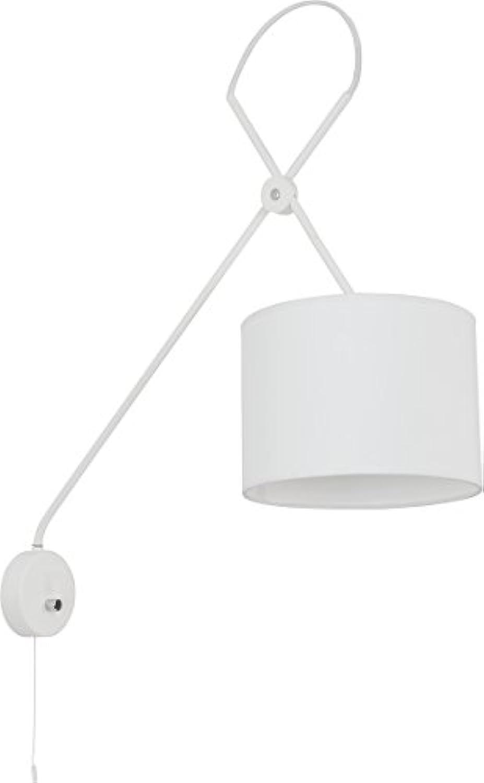 Wandleuchte mit Schalter, VIPER, wei, leuchtenladen, Wandlampe