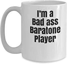 LECE grappig van de beste cadeau bariton sax geschenken - grappige novelty koffie mok cadeau idee voor bariton saxofoon speler