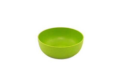 ajaa! Bio Geschirr - Schale aus nachwachsenden Rohstoffen ohne Melamin, ohne Weichmacher wie BPA, plastikfrei (Lime)