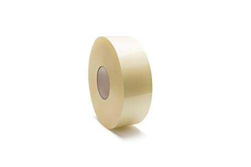 Clear Carton Sealing Tape, Packing Shipping Tape, 2 Inch Wide x 1000 Yards, 2 Mil Thick, 6 Pack