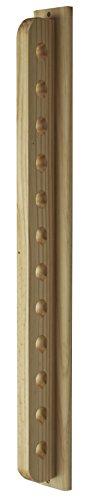 Expovinalia Wijnrek om op te hangen aan de muur, bruin, 85 x 8 x 8 cm