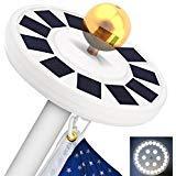 solar flagpole light totobay
