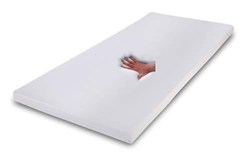 Supply24 Gel/Gelschaum Matratzen Topper Relax Höhe 7 cm, 80/90 / 100 x 190/200 cm Auflage für Matratze, Memory Schaum Matratzenauflage Soft/weich inkl. Baumwollbezug Gelauflage günstig