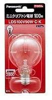 パナソニック ミニクリプトン電球 LDS100V90WCK 入数25