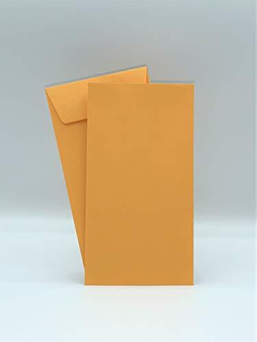 Dronka Envelope #7 Coin Envelopes, 3 1/2' X 6 1/2', Brown Kraft, 24lb, Gum Flap, 500/Box