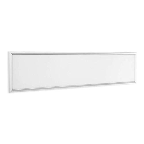 LOKKRG Panel LED de Montaje en Superficie de 48W Marco de 1200 x 300 con Panel LED Cuerpo Blanco Lámpara de Techo súper Brillante Luz de Oficina empotrada, Blanco frío