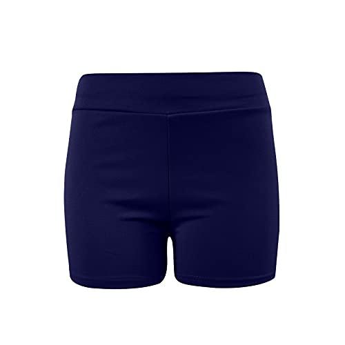 Banbry Yogahose Damen Hohe Taille Hip Lift Yoga Shorts Laufhose Sporthose Leggins Fitnesshose Blickdichte Sport Leggings Elastische Tummy Control Sportshort