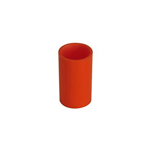 Grund z22250114 Piccolo Mug 7,1 x 7,1 x 12,3 cm Orange Accessoires, 100% Polyrésine, 7,1 x 7,1 x 12,3 cm