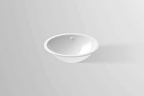 Alape 2101000000 EB.O525 Waschbecken, Weiß
