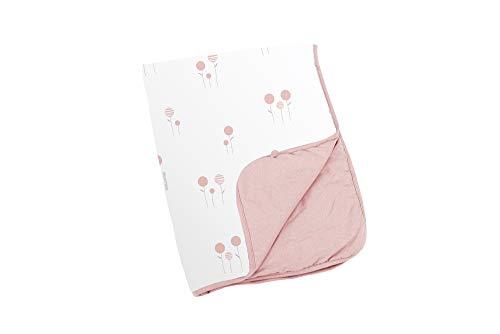 Doomoo Dream Baby Couverture 75 x 100 cm – Couverture bébé douce en coton bio – Couverture douillette pour bébé avec garnissage en fibres douces pour nouveau-nés et bébés – Doudou polyvalent