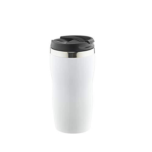 Thermobecher Shiny - ca. 450 ml - Weiß