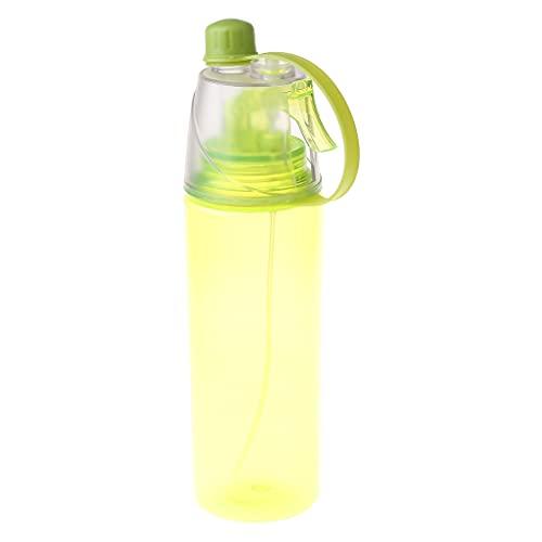 WTALL Outdoor Sports 350 ml de Capacidad Botella de Spray de Agua portátil a Prueba de Fugas de Doble Capa