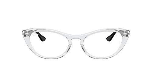 Ray-Ban VISTA 0RX4314V Gafas, Lente de demostración/transparente brillante, 51 Unisex Adulto