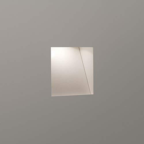 Astro Borgo Applique murale encastrable Mini Taille 1 W très blanc chaud 2700 K?: 3.3 cm H x 3.3 cm W x 6.0 cm d (pilote requis)