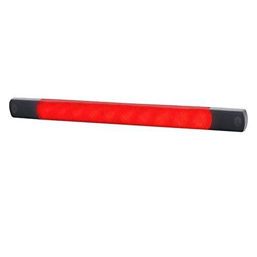HELLA 2DA 980 887-311 LED Signalleuchten in ultraflachem Design, 12 V, Zusatzbremsleuchte, Typprüfung E24 0087, Anbau horizontal / vertikal