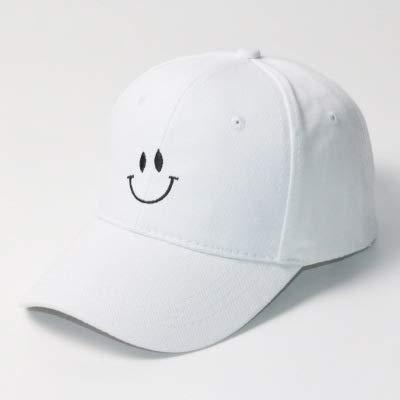 Korean version of the new baseball cap men's and women's trendy brand smiley caps casual sunshade