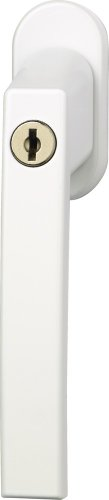 ABUS Fenstergriff abschließbar FG210, weiß, 59487