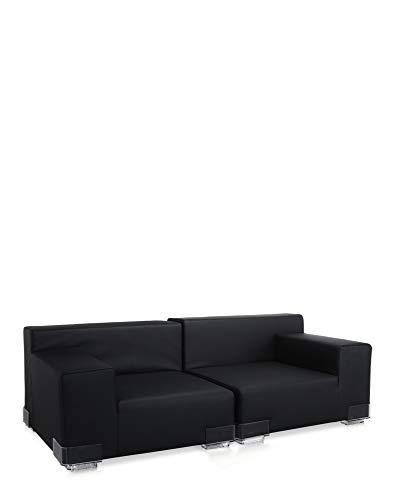 Kartell plastics fauteuil, noir