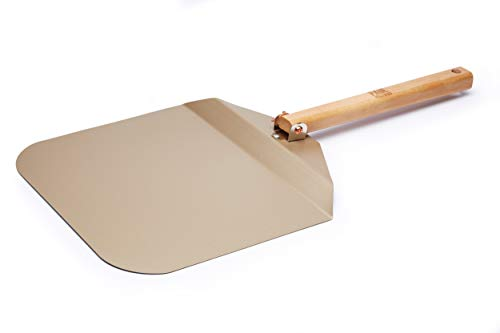 Paul Hollywood By Kitchencraft Non-stick Metal Pizza Peel With Folding Handle,