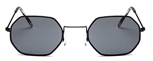 Gafas De Sol Gafas De Sol Mujer Moda Sin Montura Clear Ocean Lenses Vidrio Metal Señoras Gafas De Sol Uv400 Negro