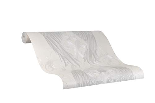 Tapete Pearl Ornamental - Kollektion Glööckler Imperial von marburg - für Schlafzimmer, Wohnzimmer oder Küche - Made in Germany - 10,05m x 0,70m