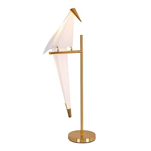 Lámpara de mesita de noche Lámpara de mesa de noche de papel de papel creativo Lámpara de personalidad moderna Mesa de noche Lámpara de mesa Sala de estar Dormitorio Lámpara de noche Decoración del ho