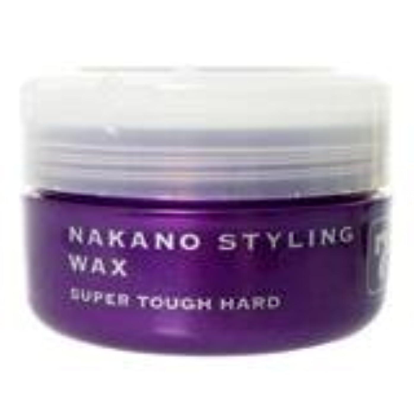 大破荷物腰ナカノ スタイリングワックス 7 スーパータフハード 90g 中野製薬 NAKANO