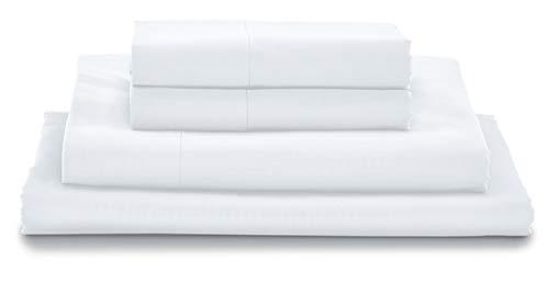 Juego de sábanas 100 % algodón egipcio de fibra larga
