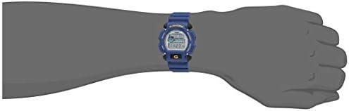Casio Men's G-Shock Quartz Watch with Rubber Strap, Blue, 23.75 (Model: DW-9052-2V) WeeklyReviewer