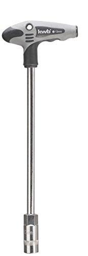 kwb Schraubendreher 13 mm Steckschlüssel 689513 (mit T-Griff zur optimalen Kraftübertragung)