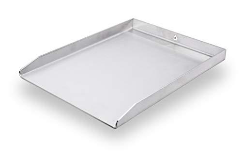 mocisa Grillplatte | Plancha | BBQ-Wanne | Grillkorb | Edelstahl | Massiv | hochwertig verarbeitet | Made in Germany | Verschiedene Größen (30cmx25cm Universal)