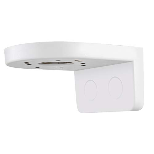 Fácil instalación Soporte de cámara blanco Cámara domo universal Soporte de montaje en pared para cámara Compatible con la mayoría de los tipos de cámaras CCTV para viajes de oficina en casa