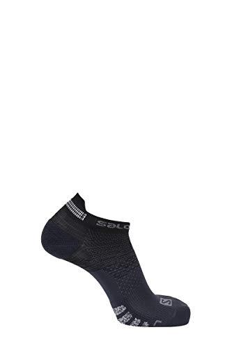 SALOMON Socks Predict Low Chaqueta entallada, Negro/Ébano, X-Large Unisex