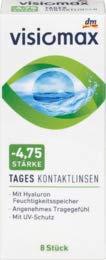 VISIOMAX Tageslinse -4,75, 1 x 8 St Medizinprodukt