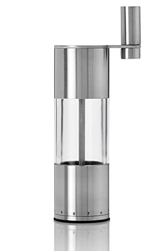 AdHoc MP57 Pfeffer- oder Salz-Getriebemühle Select mit Keramik Mahlwerk, Höhe 20 cm