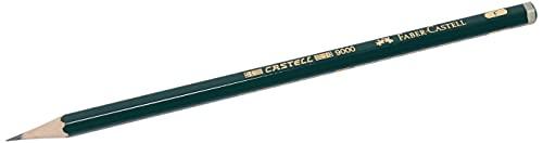 Faber-Castell 119010–Lápiz castell 9000, dureza F