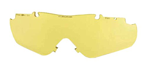 Smith Optics Elite Aegis Arc/Echo Asian Fit Eyeshield Replacement Lens, Yellow