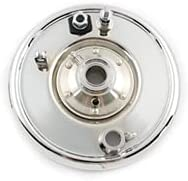 Sale depot price V-TWIN MANUFACTURING Front Mechanical Plate Chrome Backing Brake