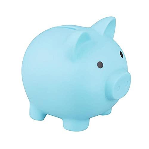 Asotagi Hucha con forma de cerdo lindo cerdo de dibujos animados hucha ahorro monedas dinero dinero caja regalo para niños niñas niños