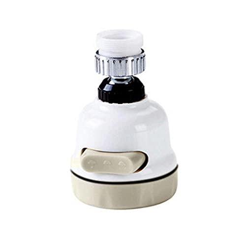 Aireador Grifo Cocina difusor de filtro de grifo giratorio de 360 ° Ajustable Grifo Agua,accesorios de grifo de cocina y baño-Rosca exterior_24mm