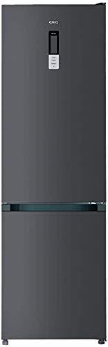 CHiQ Total NoFrost Kühlschrank (351L, Dark Inox)