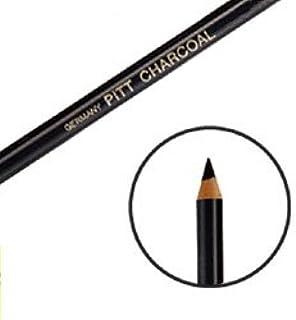 Faber-Castell PITT ナチュラルチャコール鉛筆 黒 ハード 117411