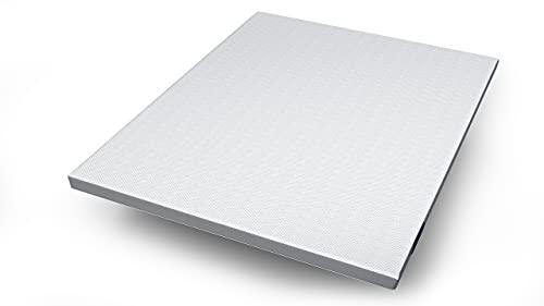 Genius Eazzzy Topper 200x200 cm - orthopädische Matratzen-Auflage Matratzenschoner für Matratze & Boxspringbett - atmungsaktiver Matratzentopper Bettauflage für Allergiker